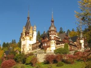 peles castle in sinaia