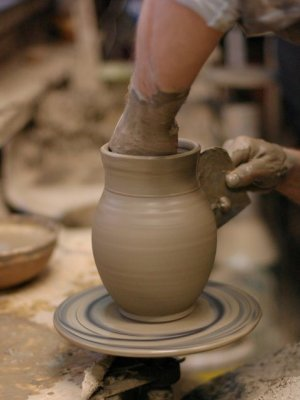 Pottery. Photo by Dragos Gheban