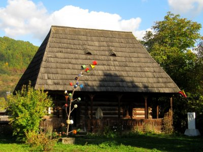 Wooden house from Maramures
