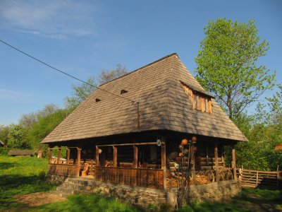 Wooden house from Maramures where our guests stay
