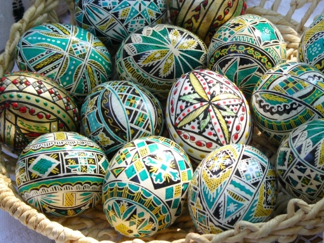 Painting Eggs For Easter In Bucovina Via Transylvania